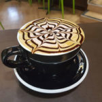 A photo of a cappuccino from The Coffee Hideaway