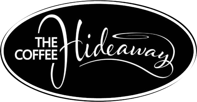 The logo for The Coffee Hideaway in East Maitland, NSW