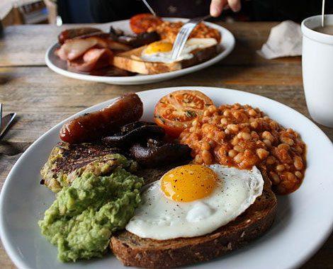 A photo of a big breakfast